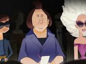 Electric Holiday, cartoon Disney protagonisti short movie Barneys York