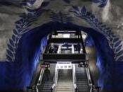 galleria d'arte lunga mondo metropolitana Stoccolma