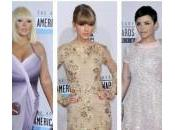 American Music Awards 2012: vincitori abiti belli