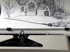 scrivo disegno, Typewriter