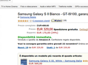 Samsung Galaxy disponibile soli euro Amazon Italia