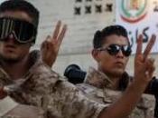 Bani Walid amour. west della Libia dopo Gheddafi
