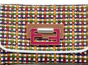 Must have: Fendi multicolor woven clutch