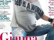 Gianna Nannini pancione Vanity Fair