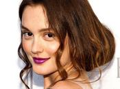 Beauty trend: rossetto viola Leighton Meester Gossip Girl