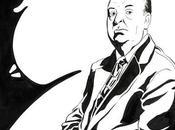 Alfred Hitchcock's portrait