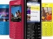 Nokia propone Asha 206, Facebook phone economici