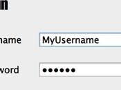 Creare pannello login Java