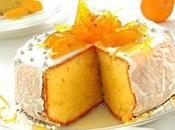 Torta soffice glassata