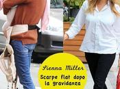 Star Style// Sienna Miller scarpe basse dopo gravidanza.