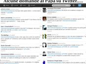 Papa sbarca Twitter. domande bizzarre @pontifex.