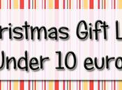 Christmas Gift List Under euri!!!