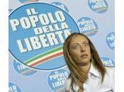 """Pdl, Giorgia Meloni: """"Non voglio partito plastica discute decisioni"""""""