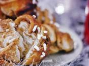 Cinnamon roll-pretzels