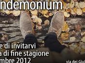 Pandemonium, vendita fine stagione dicembre!