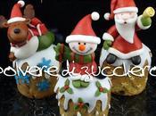 Tutorial: Babbo Natale, Pupazzo neve, Renna pasta zucchero panettone