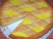 Crema gialla pasta frolla
