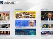 VideoMediaset Windows vedere diretta live tablet computer, canali mediaset,la programmazione ultimi video caricati