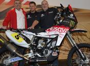 Husqvarna Rallye Team Speedbrain pronto Dakar 2013