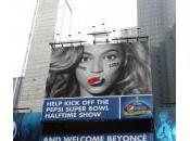 York, Beyoncé Pepsi: gigantografia Times Square