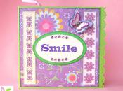"""Guarisci presto"" scrapbooking collab Creazioni Topina Scrap ""Get well soon"""