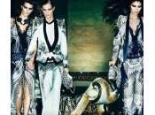 Roberto Cavalli: model l'animalier ispirano campagna pubblicitaria