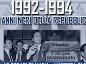 anni neri della Repubblica: nascita Forza Italia vittoria Berlusconi 1994