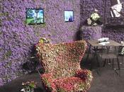 L'ultima tendenza flower design pareti piante