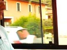 Diario viaggio: autista autobus giorno sulla linea Brescia