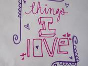 Things love!