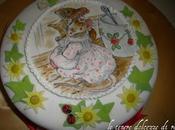 Ancora torta ispirata Beatrix Potter