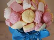 Piantine marshmallow come centrotavola