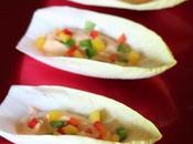 Stuzzichini indivia Hummus peperoni, ovvero ospiti inattesi…