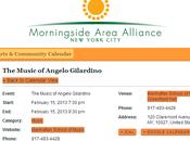 Concerto dedicato alla musica Angelo Gilardino York (MSM)