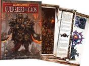 Nuovo Codex Guerrieri Caos L'Ottava Edizione Warhammer!