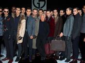 L'uomo virile Giorgio Armani Menswear -'14