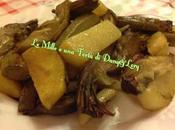 Carciofi patate padella