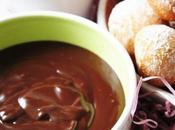 Castagne Carnevale salsa golosa cioccolato