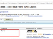 Nexus arriva Amazon Italia!