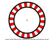 Illusioni ottiche orarie antiorarie?
