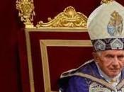Benedetto lascia Pontificato febbraio