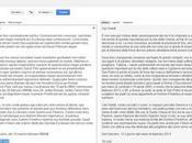 Google Latina traduce discorso Papa