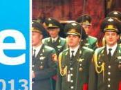 #sanremo2013 63°Festival Maurizio Crozza, Toto Cutugno l'Armata Rossa, Felix Baumgartner l'omaggio Verdi