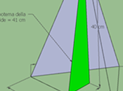 Piramide base triangolo isoscele