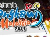 Tour Langkawi 2013: tappe partenti