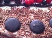 velvet gluten free, ricotta, cioccolato fondente frutti rossi