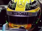 Lewis Hamilton dubbio bagnato della Mercedes