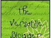 [The Versatile Blogger] premio