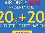 """Avis: """"20% 20%"""" tutte destinazioni"""