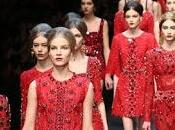 DOLCE GABBANA Winter 2014 Women's fashion show TAILORED MOSAIC